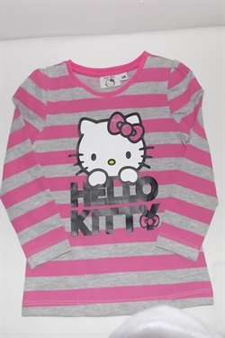 Hello Kitty bluse med navn.