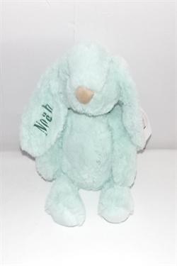 grøn kanin bamse