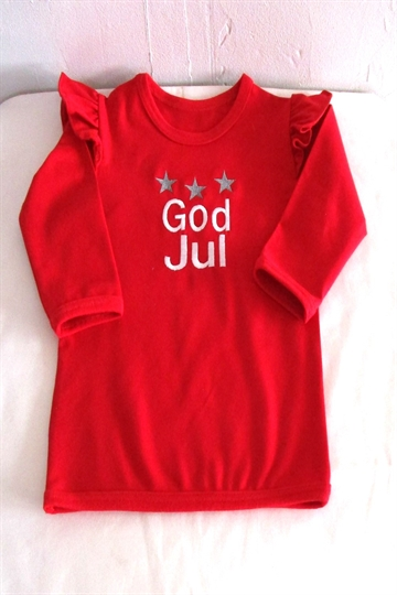 Bluse med  God jul.